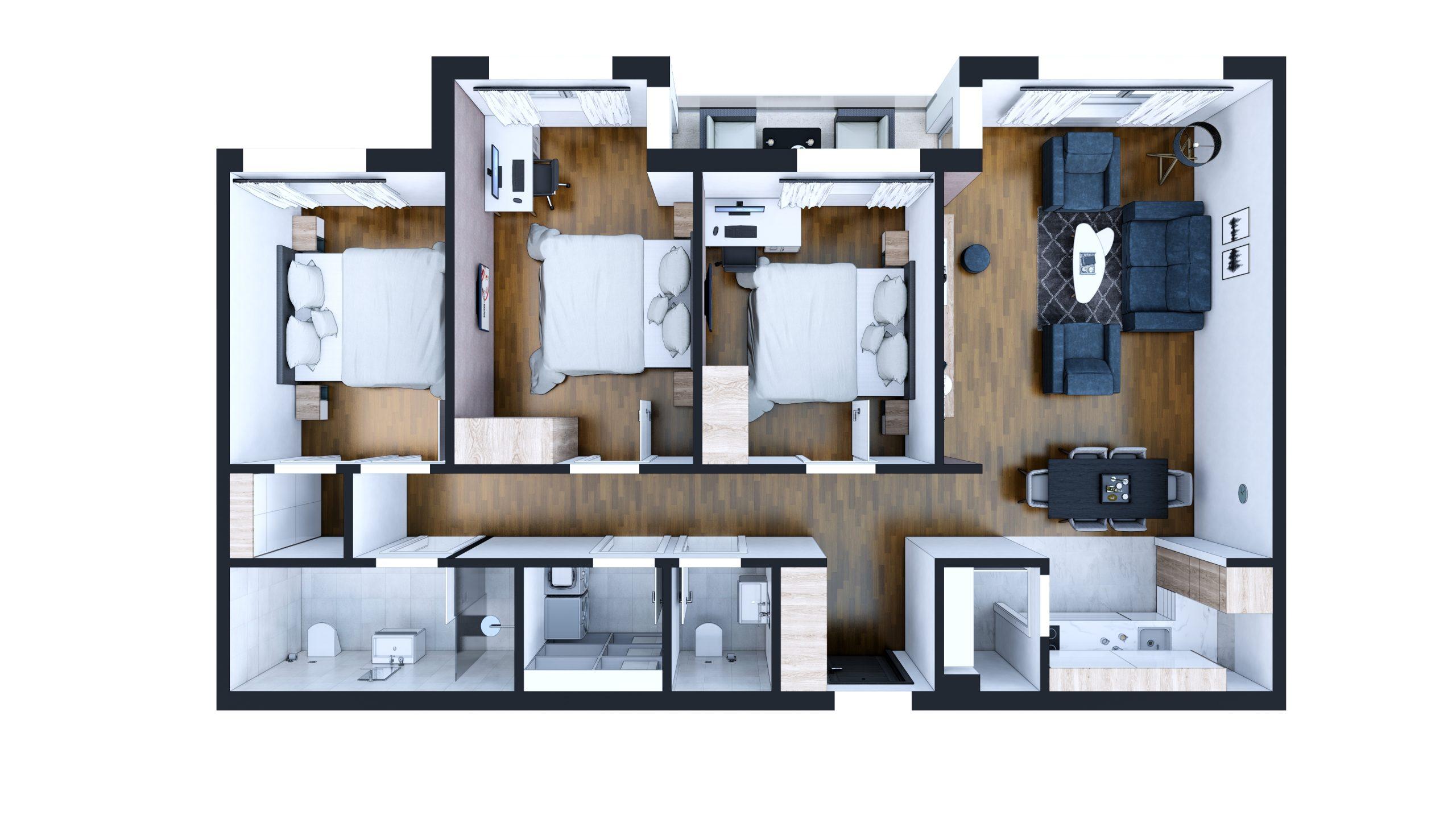 Četvorosoban stan - S5